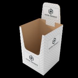 box de présentation tallineau sans fond