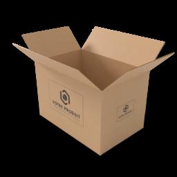 caisse carton tallineau sans fond