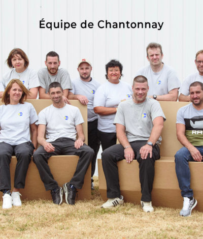 tallineau emballages equipe de production chantonnay