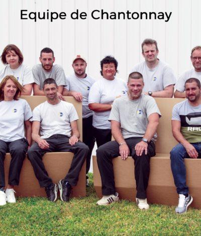Equipe de production - Site de Chantonnay