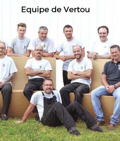 Equipe de production - Site de Vertou